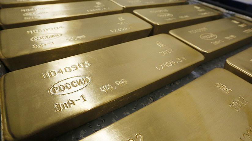Rusia ya tiene cerca de 2.000 toneladas de oro en reserva y se acerca a su máximo histórico de 1941