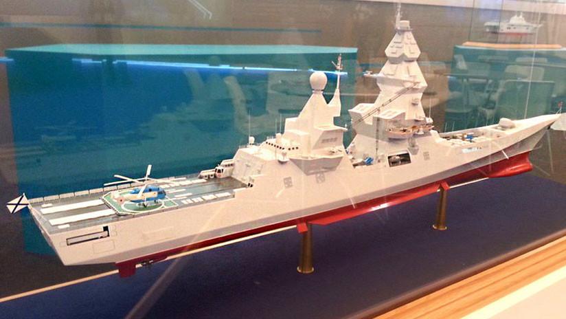 """""""El buque más armado del mundo"""": Así será el Líder, destructor ruso de nueva generación"""