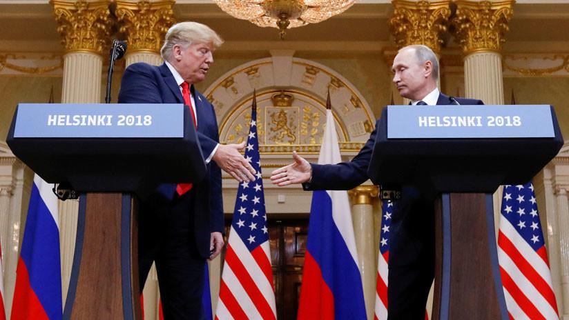 """Trump pospone la segunda cumbre con Putin hasta 2019, cuando """"acabe la caza de brujas"""""""
