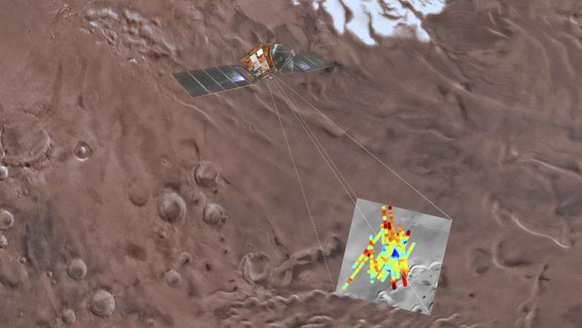 Hallazgo histórico: El lago descubierto en Marte, en fotos