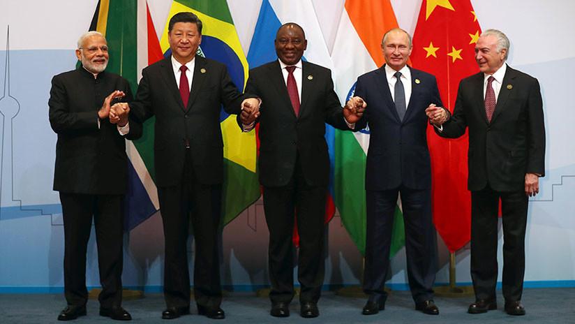 """Xi Jinping: """"Los BRICS podrían formar un nuevo sistema de relaciones internacionales"""""""