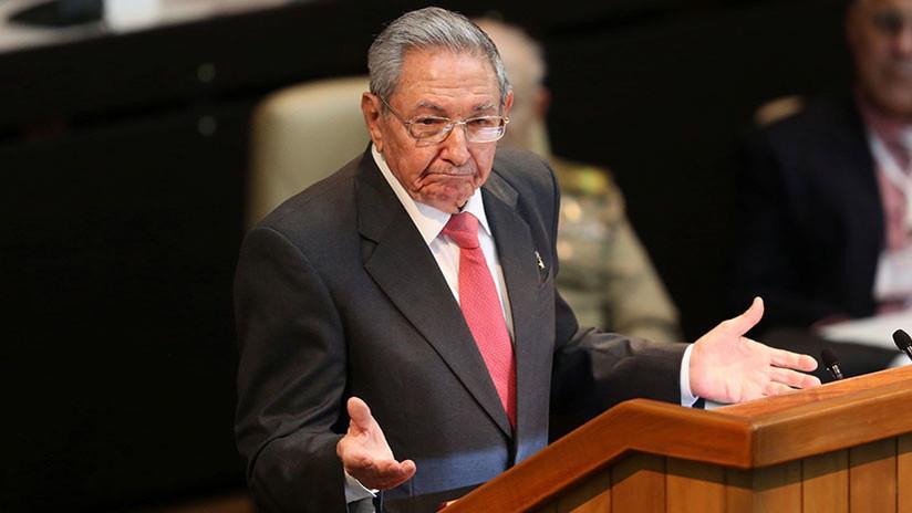 """Raúl Castro alerta contra """"la euforia"""" de los enemigos de Cuba: """"Se estrecha el cerco para nosotros"""""""