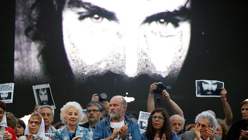 Marcha en Mendoza a un año del caso Maldonado
