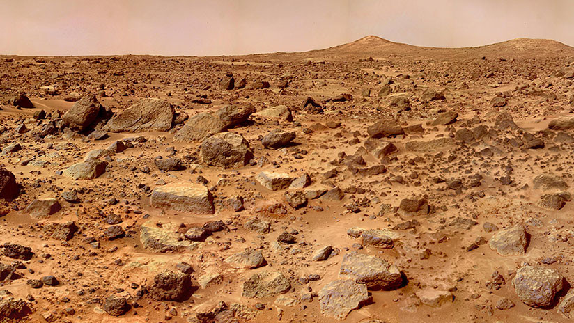 Identificado el misterioso origen de la manta de polvo que cubre Marte
