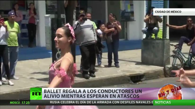 Ballet para aliviar los atascos en Ciudad de México