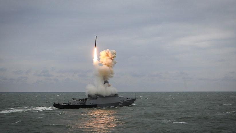 Rusia anuncia la exportación de buques con misiles de crucero Kalibr