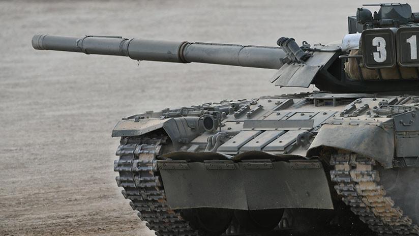 """Por qué el tanque ruso T-80 """"no está para bromas"""""""