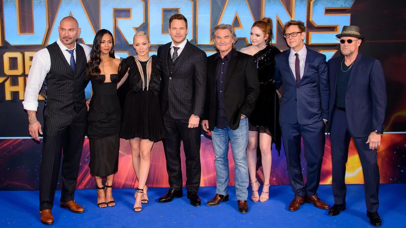 'Guardianes de la Galaxia' piden a Disney reincorporar a James Gunn, despedido por polémicos tuits