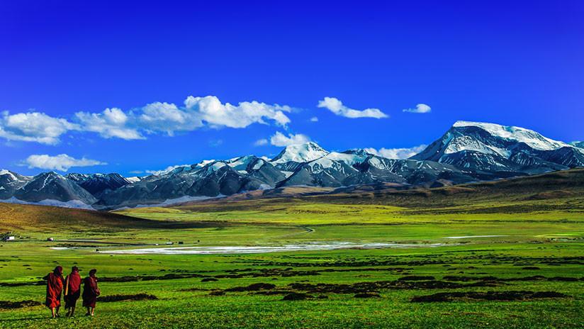 Descubren cuatro roturas gigantes en el manto terrestre debajo del Tíbet