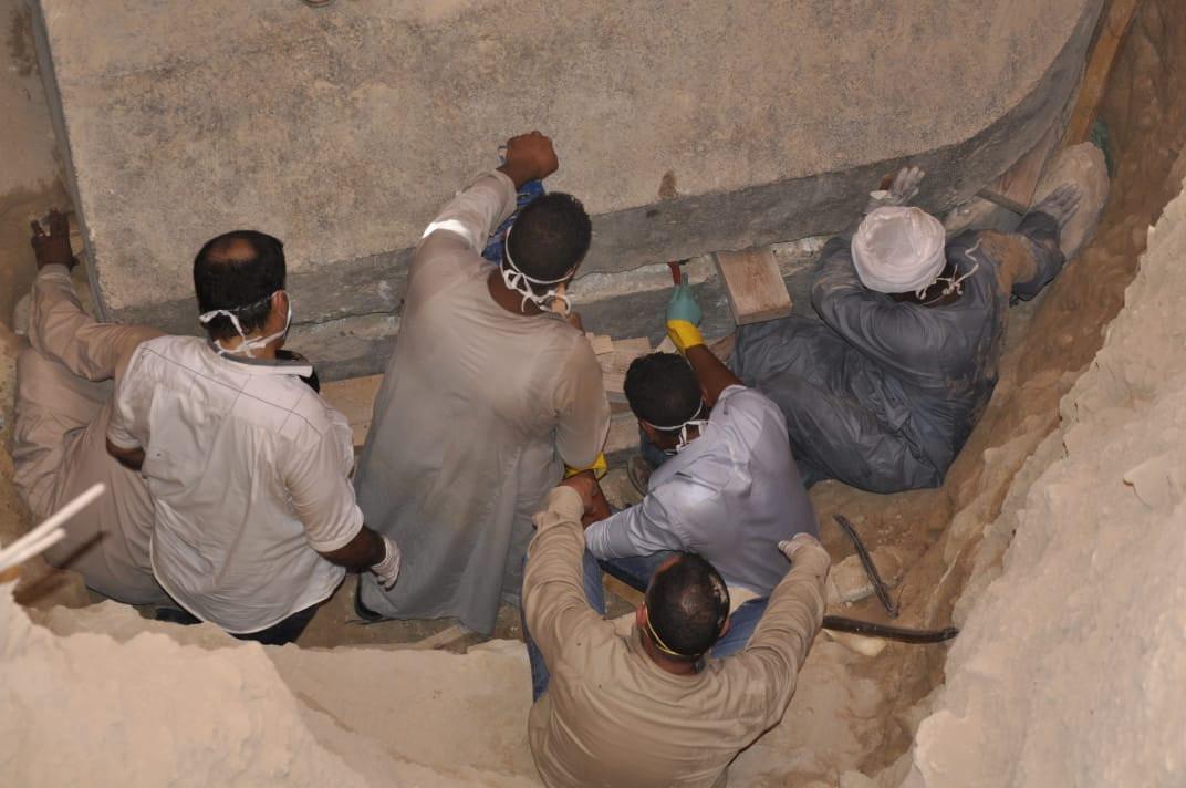 Finalmente: abrieron el misterioso sarcófago negro encontrado en Egipto