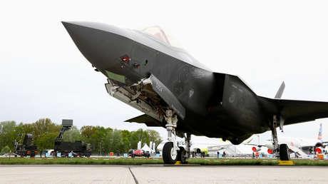 Un F-35 de Lockheed Martin