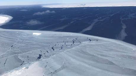 Panorámica de la Antártida.