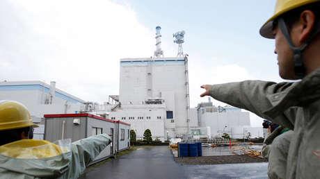 Edificio del reactor de la central nuclear Tokai 2, Japón, 19 de abril de 2011.
