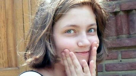 Foto de Natalia Grenbenshicova, la joven rusa asesinada en Buenos Aires cuando tenía 15 años.