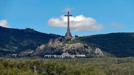 Vista general del Valle de los Caídos, cerca de Madrid. 3 de julio de 2018.