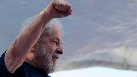 El expresidente brasileño Luiz Inácio 'Lula' da Silva.