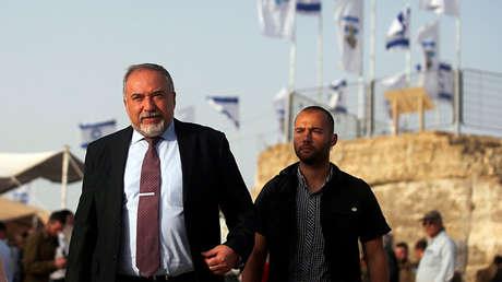 El ministro de Defensa de Israel, Avigdor Lieberman.
