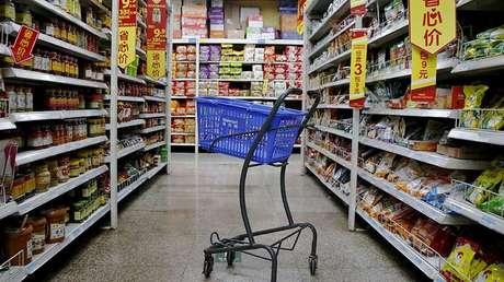 Una tienda Walmart en Pekín, China.