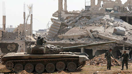 Soldados del Ejército sirio. Imagen ilustrativa