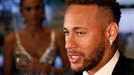 El jugador brasileño Neymar.