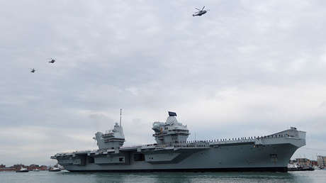 El portaaviones británico HMS Queen Elizabeth