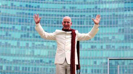 El fundador y director ejecutivo de Amazo, Jeff Bezos.