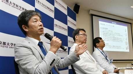 Jun Takahashi, profesor del Centro de Investigación y Aplicación de Células iPS de la Universidad de Kioto, el 30 de julio de 2018.