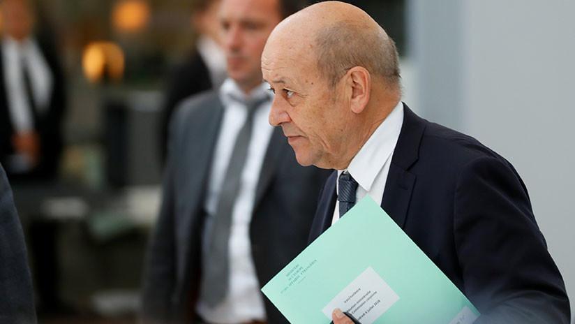 Canciller de Francia: Europa debe responder a intentos de EE.UU. de usar la fuerza en sus relaciones