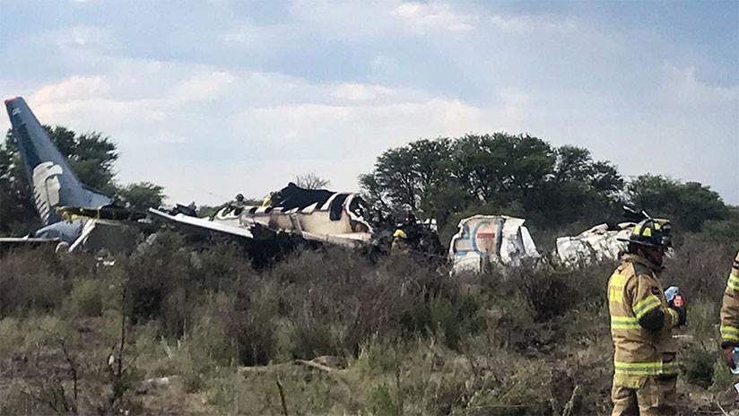 ¿Cómo lograron salvarse los pasajeros del avión accidentado en México?