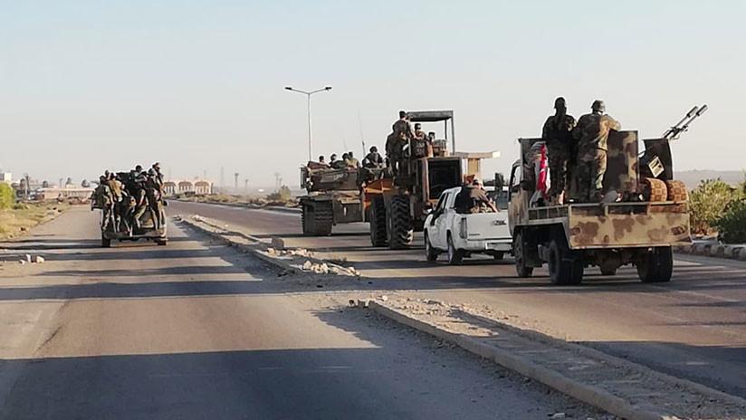 Moscú: El Estado Islámico crece cerca de la zona siria controlada por EE.UU.