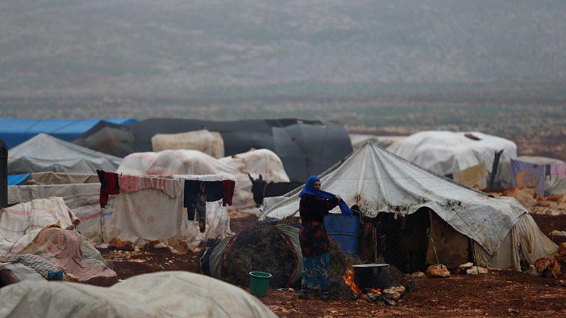 El Estado Mayor de Rusia alerta de que en un campo de refugiados sirio aún se esconden terroristas
