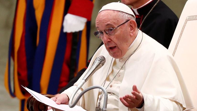 """El papa Francisco declara que la pena de muerte es """"inadmisible"""" y aboga por su abolición"""
