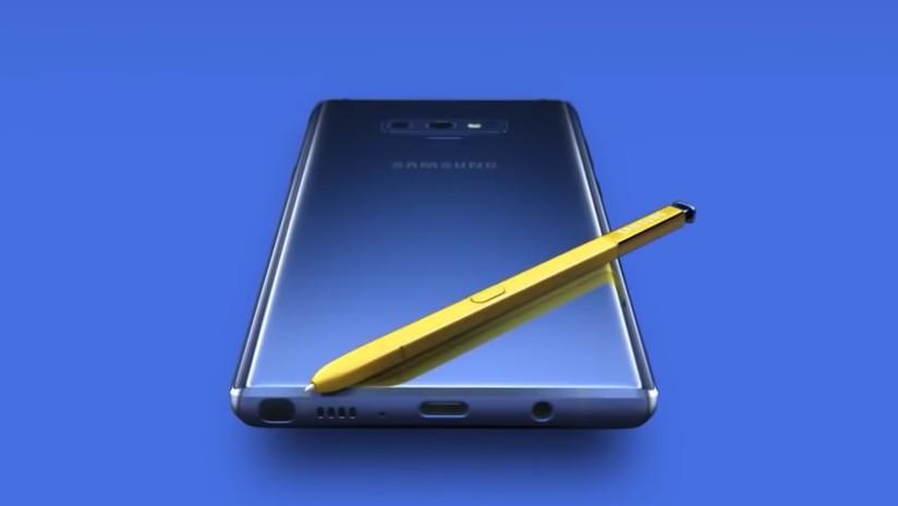 VIDEO: Samsung publica por error un video promocional con los detalles del nuevo Galaxy Note 9
