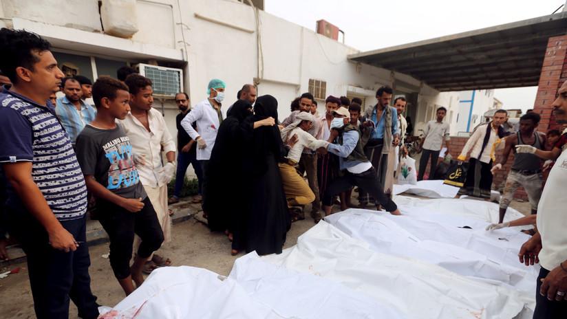 """Ministerio de Salud yemení: EE.UU. """"tiene plena responsabilidad"""" en ataque aéreo mortal en Hodeida"""