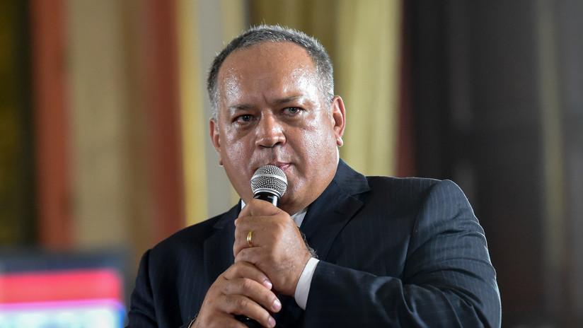 Diosdado Cabello acusa a la derecha del atentado contra Maduro