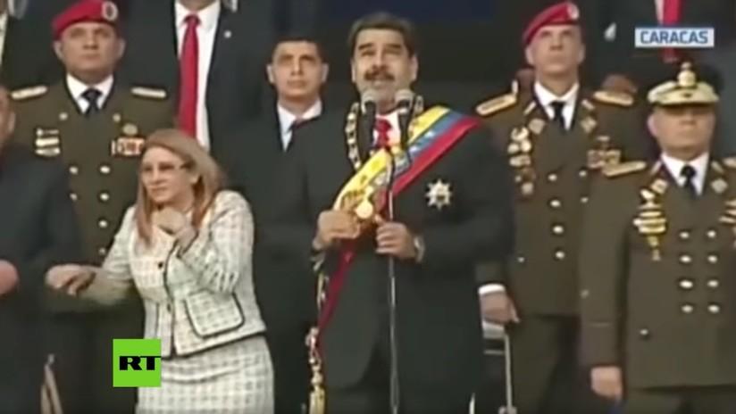 Confirman que fue perpetrado un atentado fallido contra Nicolás Maduro en Caracas