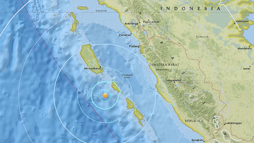 URGENTE: Sismo de magnitud 7 sacude la isla indonesia de Lombok