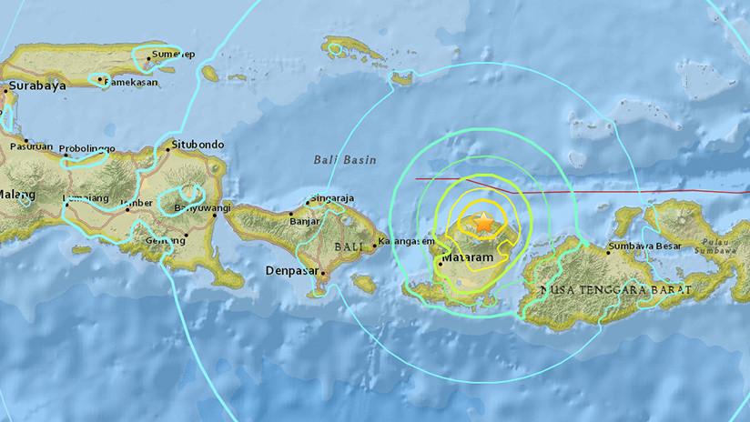 Mundo: Un nuevo terremoto sacudió la isla indonesia de Lombok