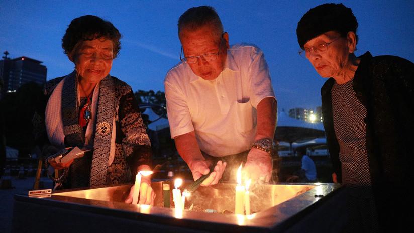 FOTOS: Japón conmemora el 73 aniversario del bombardeo atómico en Hiroshima y a sus víctimas