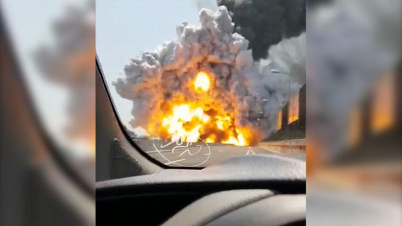 VIDEO: Graban la explosión en Bolonia desde muy corta distancia