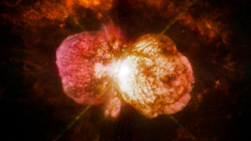 Eta Carinae: Revelan el secreto de la estrella 'inmortal' que sobrevivió a una explosión masiva