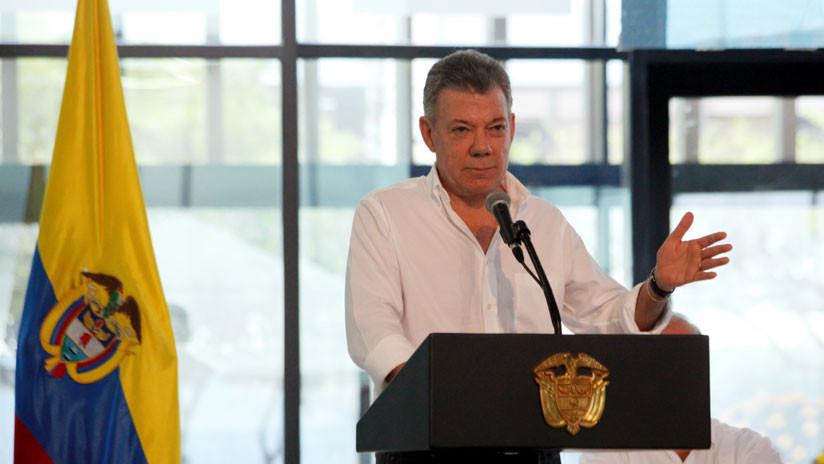 """""""Estaba en cosas más importantes"""": La respuesta de Santos a Maduro sobre el atentado"""