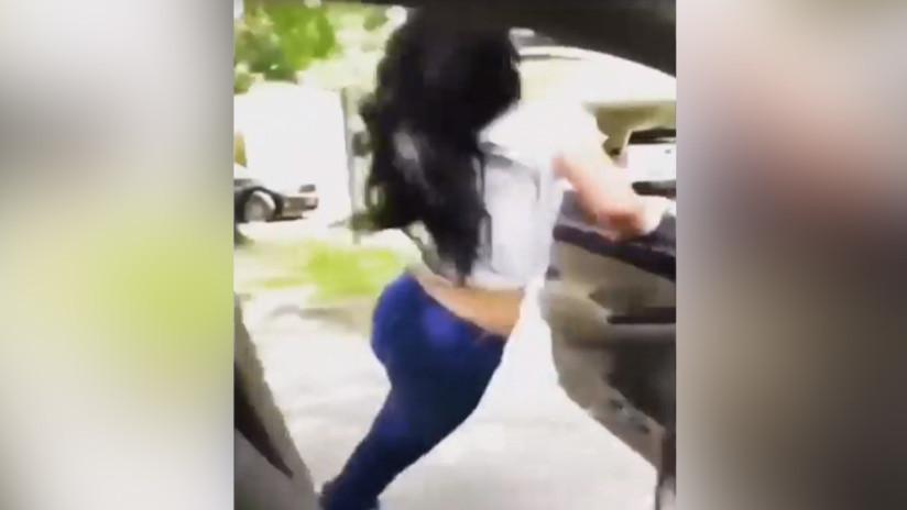 La Policía planta cara al reto de moda: ¡Prohibido salir del coche en marcha para bailar! (VIDEOS)