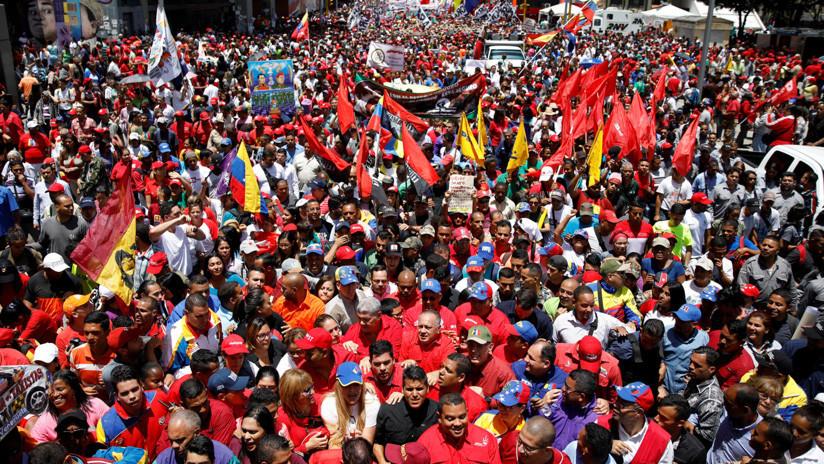 EN VIVO: Venezolanos marchan en repudio al fallido intento de magnicidio contra Maduro
