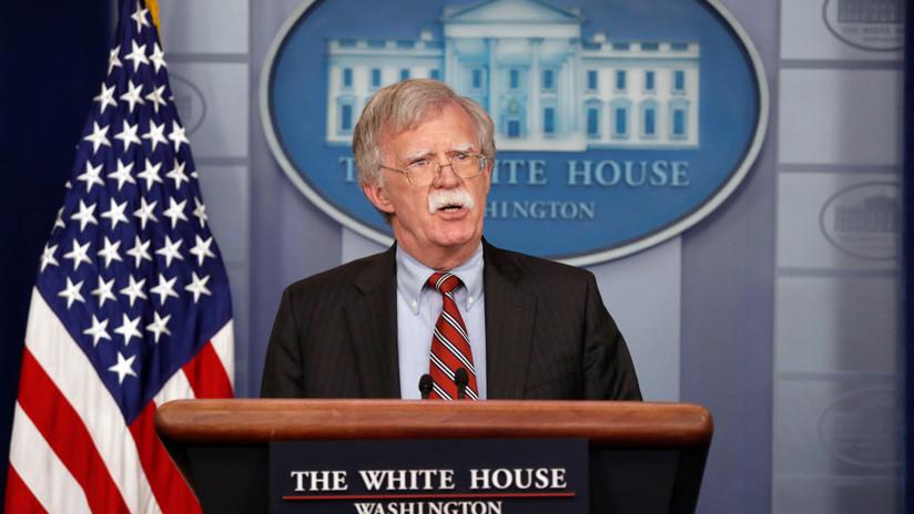 Bolton niega cualquier participación de EE.UU. en el atentado fallido contra Maduro