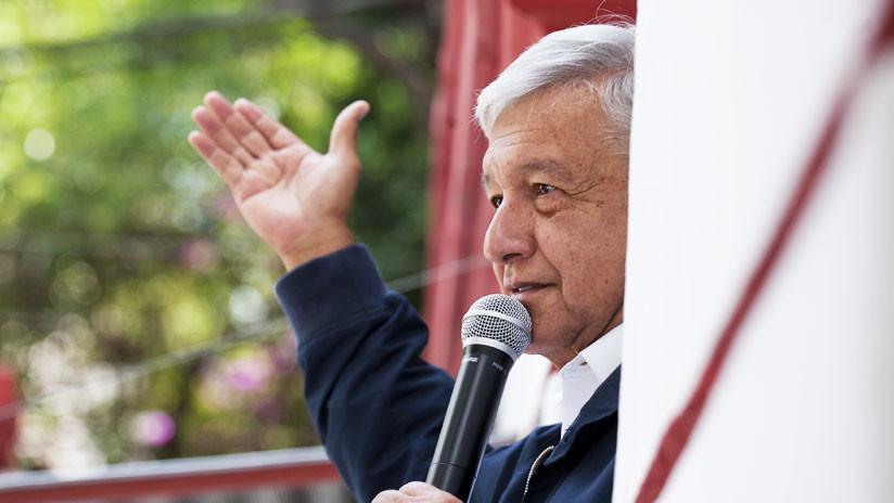 """López Obrador: """"Nadie amenazará a México con cerrar fronteras o construir muros"""""""