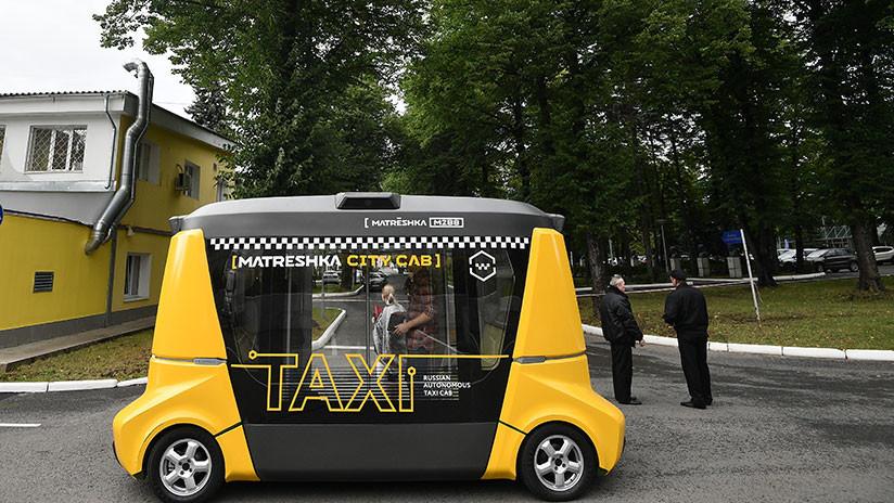 Así es el Matrёshka 2.0, la nueva versión del primer autobús autónomo ruso