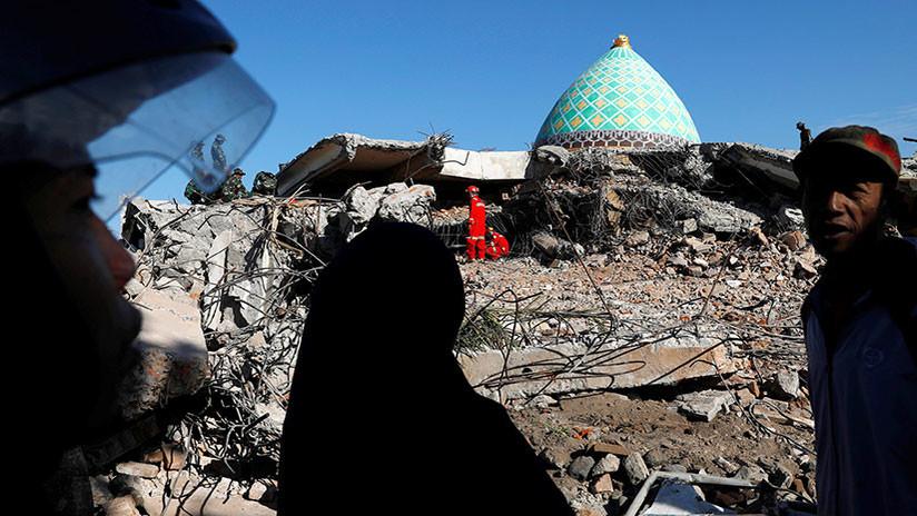 El número de víctimas del terremoto en Indonesia se eleva a 347