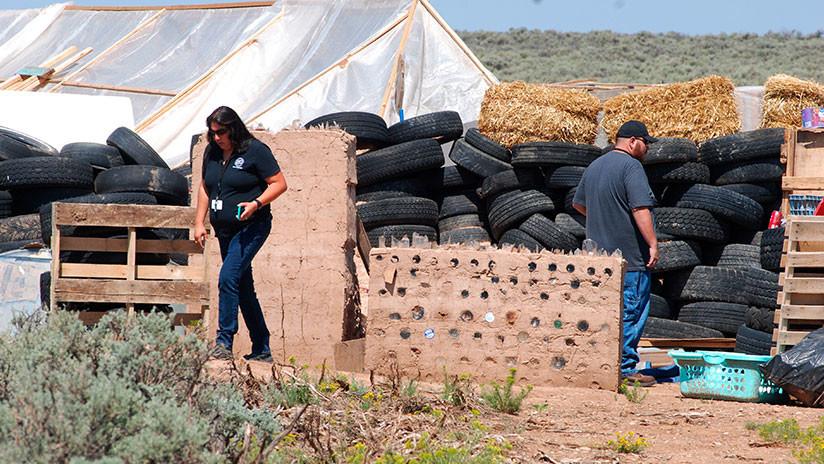 Niños secuestrados en Nuevo México eran entrenados para disparar contra escuelas