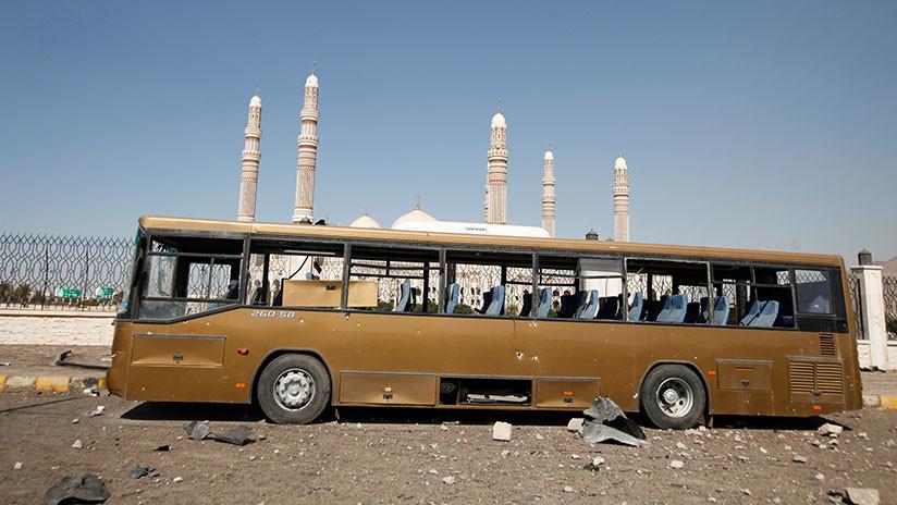 Matan a 50 niños en ataque a autobús escolar — Crueldad en Yemen